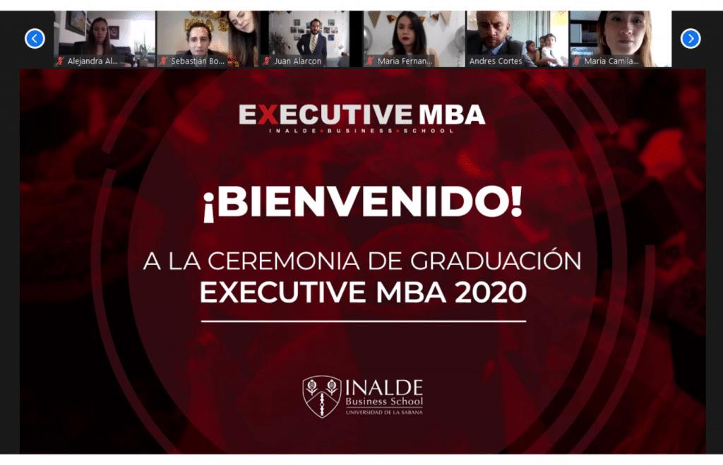 Grado del Executive MBA 2018 – 2020, generación que no le tiene miedo al cambio